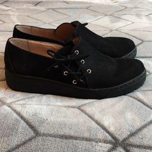 Halogen Black Slip On Shoes